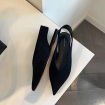 CELINE Plain Leather Pumps & Mules