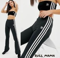 adidas Casual Style Street Style Plain Long Culottes