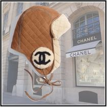 CHANEL 2019-20AW HAT beige more hats & hair accessories