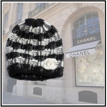 CHANEL 2019-20AW KNIT CAP black more hats & hair accessories