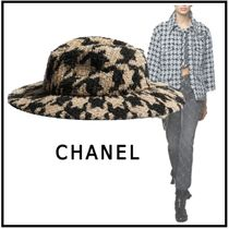 CHANEL 2019-20AW HAT beige & black more hats & hair accessories