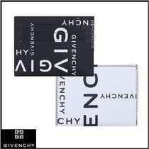 GIVENCHY Calfskin Plain Card Holders