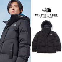 THE NORTH FACE WHITE LABEL Short Unisex Fur Street Style Plain Down Jackets