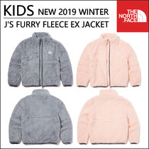 THE NORTH FACE Unisex Blended Fabrics Street Style Kids Girl Outerwear