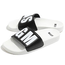 MSGM Street Style Shower Shoes Flat Sandals