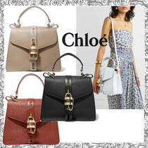 Chloe ABY 2WAY Leather Shoulder Bags