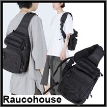 Raucohouse Casual Style Street Style Backpacks