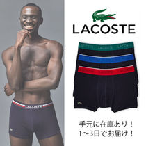 LACOSTE Plain Cotton Boxer Briefs