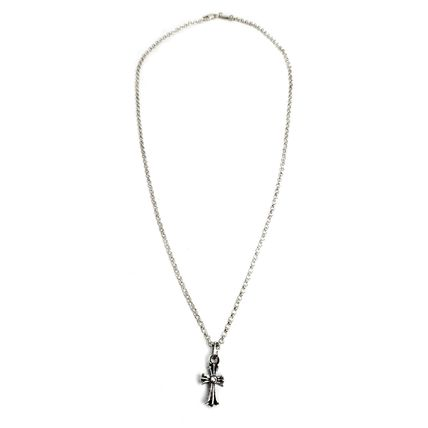 CHROME HEARTS CH CROSS Silver Co-ord Chain Necklaces Necklaces & Chokers