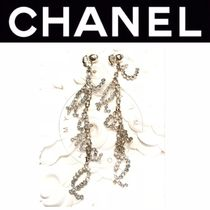 CHANEL ICON Costume Jewelry Blended Fabrics Street Style Chain Handmade