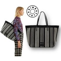 bimba & lola Casual Style A4 Leather Totes