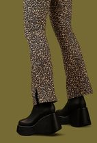 UNIF Clothing Leopard Patterns Casual Style Street Style Cotton Medium