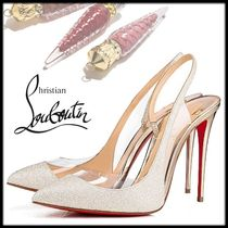 Christian Louboutin Pin Heels Party Style Elegant Style Stiletto Pumps & Mules