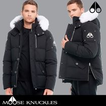 MOOSE KNUCKLES 3Q JACKET Fur Down Jackets