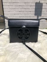 Tory Burch MILLER Casual Style Leather Office Style Crossbody Formal Style
