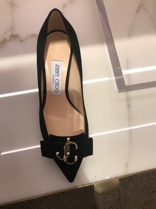 Jimmy Choo Casual Style Suede Plain Party Style Office Style