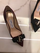 Jimmy Choo Suede Plain Party Style Elegant Style