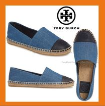 Tory Burch Rubber Sole Slip-On Shoes