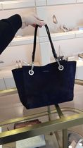 Jimmy Choo Casual Style Canvas Suede 2WAY Plain Leather Office Style