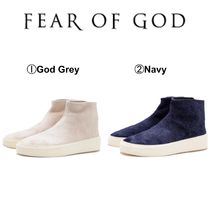 FEAR OF GOD Suede Street Style Sneakers
