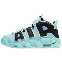 Nike AIR MORE UPTEMPO Unisex Blended Fabrics Street Style Sandals
