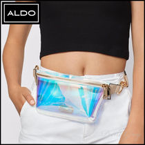 ALDO [ALDO] Rainbow & Leopard Clear Belt Bag - Sevasen