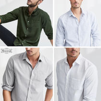 Ron Herman Long Sleeves Plain Cotton Shirts