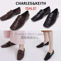Charles&Keith Casual Style Faux Fur Plain Office Style