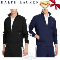 Ralph Lauren Stripes Plain Logo Track Jackets