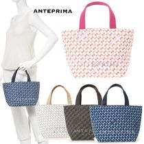 ANTEPRIMA Casual Style Canvas Totes