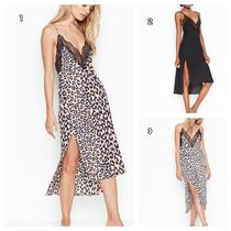 Victoria's secret Leopard Patterns Plain Lace Slips & Camisoles