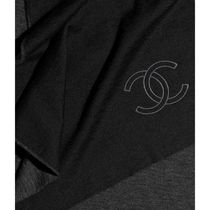 CHANEL 2019-20AW SCARF black more scarves & shawls