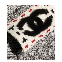 CHANEL 2019-20AW SCARF gray more scarves & shawls