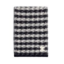 CHANEL 2019-20AW SCARF black & gray more scarves & shawls