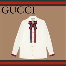 GUCCI Casual Style Long Sleeves Shirts & Blouses