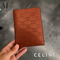 CELINE Triomphe Unisex Passport Cases