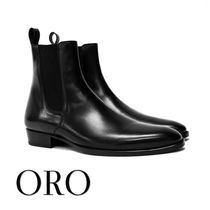 ORO LOS ANGELES Plain Leather Boots