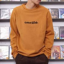 TCSS Logo Surf Style Pullovers Unisex Sweat Long Sleeves Plain