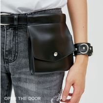 OPEN THE DOOR Casual Style Unisex Street Style Bags