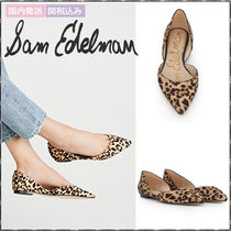 Sam Edelman Leopard Patterns Elegant Style Pointed Toe Pumps & Mules