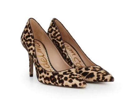 Leopard Patterns Pin Heels Party Style Elegant Style