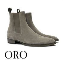 ORO LOS ANGELES Suede Plain Boots