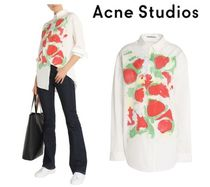 Acne Long Sleeves Cotton Shirts & Blouses