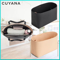 CUYANA Plain Leather Elegant Style Bags