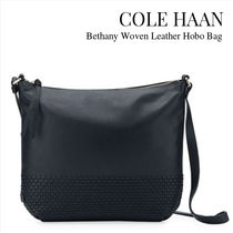 Cole Haan Casual Style Plain Leather Party Style Shoulder Bags