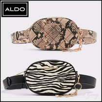 ALDO [ALDO] Python & Zebra Shoulder / Belt Bag - Pounce