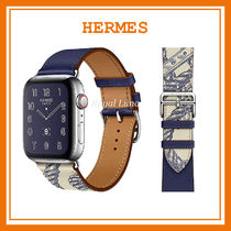 HERMES Casual Style Unisex Street Style Leather Stainless Watches
