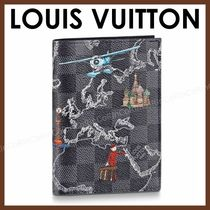Louis Vuitton DAMIER GRAPHITE Canvas Card Holders