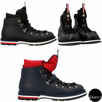 MONCLER Plain Toe Mountain Boots Outdoor Boots