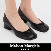 Maison Martin Margiela Tabi Plain Leather Pumps & Mules